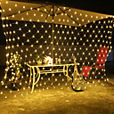 cheap LED String Lights-1.5m Flexible LED Light Strips 500 LEDs EL White / Red / Yellow Waterproof / Creative / Decorative 220-240 V 1 set