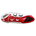 cheap Motorcycle Jackets-SIDEBIKE Adults' Cycling Shoes With Pedals & Cleats / Road Bike Shoes Anti-Slip, Anti-Shake / Damping, Cushioning Cycling Red / White Men's / Breathable Mesh / Nylon / Ultra Light (UL)
