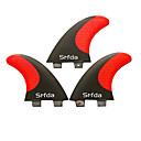 tanie Kamery IP wewnętrzne-Srfda Płetwy do deski do surfingu Włókno szklane Łatwo otwieralny - Deska SUP / Longboardy / Deski surfingowe 3 pcs