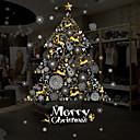 ieftine Film & Acțibild De Geam-Fereastră de film și autocolante Decor Crăciun Vacanță PVC Sticker transparent / Autocolant Geam