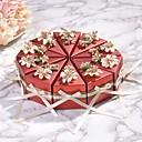 abordables Soportes para Regalo-Triángulo Papel de tarjeta Soporte para regalo  con Cintas Cajas de regalos - 10pcs