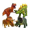 billige Action- og lekefigurer-Dinosaurfigurer Tyrannosaurus Dinosaur Kosedyr Dyr Silikon Alle Jente Leketøy Gave 1 pcs