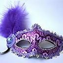hesapli Cadılar Bayramı Parti Malzemeleri-Tatil Süslemeleri Cadılar Bayramı Süslemeleri Cadılar Bayramı Maskeleri Dekorotif / Havalı Mor 1pc