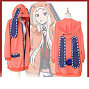 abordables Déguisements de Manga-Inspiré par Kakegurui Cookie Anime Manga Costumes de Cosplay Cosplay à Capuche Animé / Lettre et chiffre Manches Longues Manteau Pour Femme