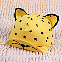 cheap Makeup Brush Sets-Toddler / Infant Unisex Active / Basic Daily / Sports Cat Animal Printing Cotton / Polyester Hats & Caps Black / Red / Yellow One-Size