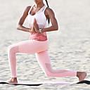 halpa Kuntoilu-, juoksu- ja joogavaatetus-Naisten Läpinäkyvä Jooga Suit Urheilu Color Gradient Leggingsit Hihaton Bra Top zumba Jooga Juoksu Activewear Hengittävä Nopea kuivuminen Butt Lift Mikrojoustava