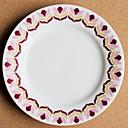 זול כלי אוכל-יחידה 1 צלחות לארוחה כלי אוכל חַרְסִינָה יצירתי Heatproof