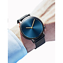 cheap Men's Earrings-Men's Women's Dress Watch Wrist Watch Quartz Chronograph Creative New Design Alloy Band Analog Elegant Minimalist Black / Silver - Black Gold / Black Silver / Blue One Year Battery Life / SSUO 377