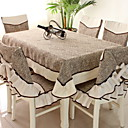 cheap Table Runners-Contemporary Cotton Square Table Cloth Solid Colored Table Decorations 1 pcs