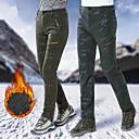 abordables Chaquetas Shoftshell, de Lana y de Senderismo-Unisex Pantalones para senderismo Al aire libre Resistente al Viento, Resistente a la lluvia, Transpirabilidad Invierno Licra Pantalones / Sobrepantalón Esquí / Pesca / Senderismo / Elástico
