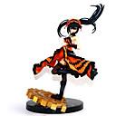 billige Anime actionfigurer-Anime Action Figurer Inspirert av Date A Live Kurumi Tokisaki PVC 22 cm CM Modell Leker Dukke