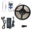 cheap RC Drone Quadcopters & Multi-Rotors-5m Flexible LED Light Strips 300 LEDs SMD5630 1 11Keys Remote Controller / 1 X 5A power adapter Warm White / Cold White Cuttable / Linkable / Self-adhesive 100-240 V 1pc