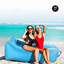 cheap Sleeping Bags & Camp Bedding-21Grams Air Sofa Inflatable Sofa Sleep lounger Air Bed     Outdoor Spring Summer Fall Waterproof Portable Fast Inflatable Design-Ideal Couch Nylon Camping / Hiking Beach Camping