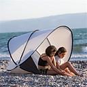 billige Kikkerter og teleskop-2 personer utendørs Strandtelt Lettvekt Regn-sikker Anvendelig <1000 mm Telt til Strand Terylene 130*130*105 cm