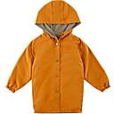 ieftine Seturi Îmbrăcăminte Băieți-Copii Băieți De Bază Zilnic Bloc Culoare Manșon Lung Regular Poliester Jachetă & Haină Trifoi 140