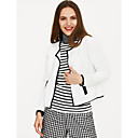 cheap Totes-Women's Cotton Jacket - Solid Colored V Neck