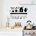 preiswerte Wand-Sticker-Dekorative Wand Sticker - Flugzeug-Wand Sticker / Worte & Zitate Wandaufkleber Personen / Formen Küche / Esszimmer