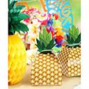 preiswerte Gastgeschenk Boxen & Verpackungen-Quader Kartonpapier Geschenke Halter mit Muster / Druck Geschenkboxen - 12st
