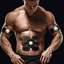 tanie Sprzęt i akcesoria fitness-Stymulator mięśni brzucha / Pas modelujący brzuch Z 3 pcs Bezprzewodowy Spalacz tłuszczu na brzuchu, Wzmacnianie mięśni brzucha, Budowa mięśni Dla Męskie / Damskie Fitness / Siłownia / Kulturystyka