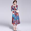 cheap Bracelets-Women's Chinoiserie Shift Dress - Floral Print