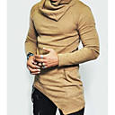 cheap Tattoo Transfers & Supplies-Men's Vintage / Active / Basic Plus Size T-shirt - Solid Colored / Long Sleeve / Long