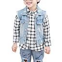 ieftine Baby Boys' One-Piece-Bebelus Băieți Imprimeu Fără manșon Jachetă & Haină