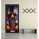 cheap Wall Stickers-Door Stickers - 3D Wall Stickers / Holiday Wall Stickers Landscape / Halloween Decorations Nursery / Kids Room