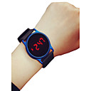 cheap Necklaces-Men's Women's Sport Watch Wrist Watch Digital 30 m Chronograph LCD Casual Watch Silicone Band Digital Casual Minimalist Black / Blue / Rose - Black / Blue Black / Rose Red Black / Silver Two Years
