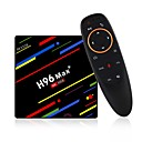 baratos TVs Box-H96 Max 4G+64G TV Box / Air Mouse Android 8.1 TV Box / Air Mouse RK3328 4GB RAM 64GB ROM Octa Core Controle de Voz