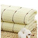 tanie Umyć Ręcznik-Najwyższa jakość Umyć Ręcznik, Plaid / Sprawdź 100% bawełna Łazienkowe 1 pcs