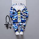 povoljno Jakne i kaputi za dječake-Djeca Dječaci Print Dugih rukava Komplet odjeće
