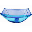 cheap Camping Furniture-Camping Hammock with Mosquito Net Outdoor Breathability Polyster for Hiking / Camping - 1 person Fuchsia / Army Green / Camouflage