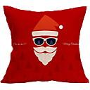 tanie Ramki na zdjęcia w stylu kolaż-Poszewka na poduszkę Święta / Święto Poliester Prostokąt Impreza / Nowość Świąteczna dekoracja