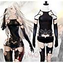 hesapli Anime Kostümleri-Esinlenen Cosplay A2 Anime Cosplay Kostümleri Cosplay Takımları Çiçek / Botanik Top / Pantalonlar / Eldivenler Uyumluluk Kadın's Cadılar Bayramı Kostümleri