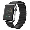 billige Kakedekorasjoner-Kalvehår Klokkerem Strap til Apple Watch Series 3 / 2 / 1 Svart / Blå / Brun 23cm / 9 tommer 2.1cm / 0.83 Tommer