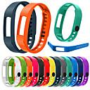 baratos Smartwatch Acessórios-Pulseiras de Relógio para Vivofit 2 Garmin Pulseira Esportiva Silicone Tira de Pulso