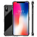 baratos Capinhas para Celular & Protetores de Tela-Capinha Para Apple iPhone XR / iPhone XS Max Antichoque / Transparente Capa traseira Sólido Macia TPU para iPhone XS / iPhone XR / iPhone XS Max