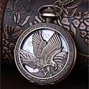 cheap Men's Boots-Men's Couple's Pocket Watch Quartz Casual Watch Cool Alloy Band Analog Vintage Casual Bronze - Bronze