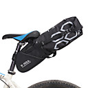 cheap Bike Saddle bags-B-SOUL 12 L Bike Saddle Bag Large Capacity Rain Waterproof Multifunctional Bike Bag PVC(PolyVinyl Chloride) 600D Ripstop Bicycle Bag Cycle Bag Cycling Outdoor Exercise