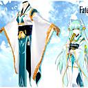 abordables Disfraces de Anime-Inspirado por Destino / Grand Order Kiyohime Animé Disfraces de cosplay Trajes Cosplay Flores / Botánica Chaqueta de Kimono / Disfraz Para Mujer