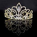 preiswerte Parykopfbedeckungen-Aleación Tiaras mit Kristall Verzierung 1 Stück Hochzeit / Besondere Anlässe Kopfschmuck
