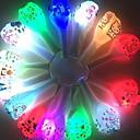 olcso Nyaralás Felei-Léggömbök Kerek LED fény Buli Party dekoráció 100db