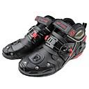 billige Motorsykkeljakker-pro-biker motorsykkel ankel støvler anti-glide racing beskyttende sko motocross motobike off-road moto støvel fotbeskytter - svart