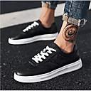 זול סניקרס לגברים-בגדי ריקוד גברים נעלי נוחות PU קיץ & אביב נעלי ספורט לבן / שחור