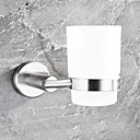 billige Hengelamper-Tannbørsteholder Nytt Design / Kul Moderne Rustfrit stål / jern 1pc Tannbørste og tilbehør Vægmonteret