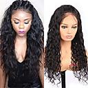 olcso Emberi hajból készült parókák-Szűz haj Csipke / Csipke eleje Paróka Brazil haj Laza hullám Paróka Tincselve 130% Természetes hajszálvonal Női Közepes hosszúságú Emberi hajból készült parókák