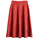お買い得  人工毛キャップレスウィッグ-女性用 ベーシック お出かけ Aライン スカート - ソリッド ハイウエスト