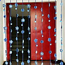 abordables Collares-Puerta Panel Cortinas cortinas Entrada y Mudroom Contemporáneo Poliéster Estampado reactivo