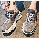 Недорогие Мужская спортивная обувь-Муж. Комфортная обувь Синтетика Зима На каждый день Спортивная обувь Беговая обувь Черный / Серый / Красный
