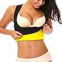 halpa Kuntoiluvälineet ja -tarvikkeet-Body Shaper Hot Sweat Workout Tank Top Slimming Vest Muotilevat asut Elastaani Venyvä Ei vetoketjua Painonpudotus Tummy Fat Burner Vatsalihasten kiinteytys Jooga Kuntoilu Kuntosaliharjoitus varten